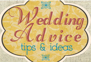 Wedding advice table