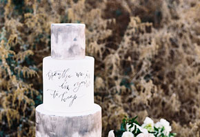 Wedding Cakes with Words: A New Level in Personalization!