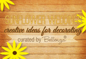 Sunflowers Lend 8 Creative Ways to Decorate a Rustic, Summer Wedding!
