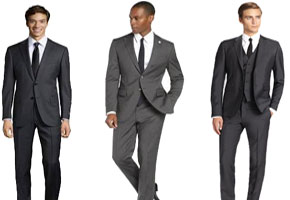 Grey for the Groom: Suits for Looking Sleek and Smart!