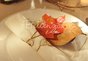 Easy Napkin Rings for a Fall Wedding!