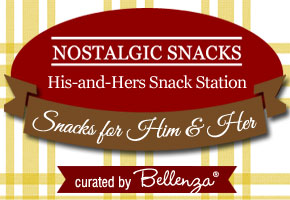 Nostalgic Snacks for a His-and-Hers Snack Station