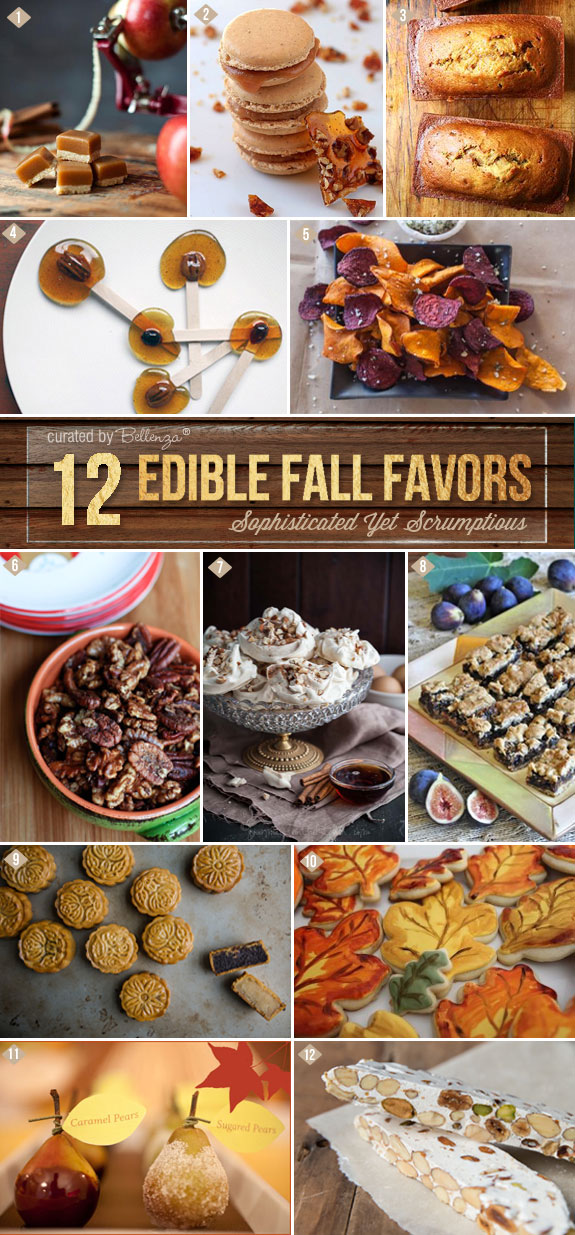 Edible fall favors beyond the usual! Think sophisticated and scrumptious with an artisan flair.