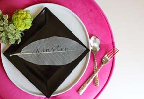 Chic Halloween Glam Bridal Shower in Pink and Black!