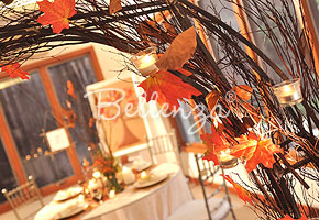 Creating a Leafy Ceremony Arch for Your Autumn Wedding!