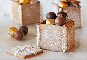 Gingerbread box via Taste.com