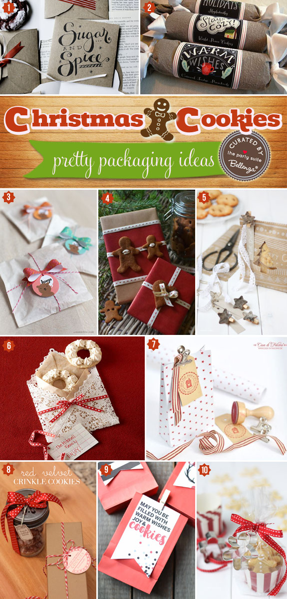 Everything Cookie Packaging - 22 Festive Ways to Wrap That Yuletide Yumminess! | The Wedding Bistro at Bellenza