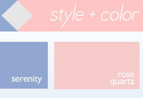 Pink blue color combo by Bellenza
