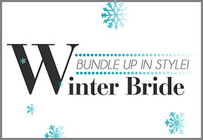 A Curated Collection of Winter Bridal Accessories by Bellenza