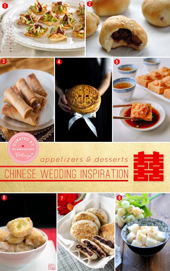 Scrumptious appetizers desserts a modern chinese wedding scrumptious appetizers and desserts for a modern chinese wedding featured by the wedding bistro at bellenza junglespirit Gallery