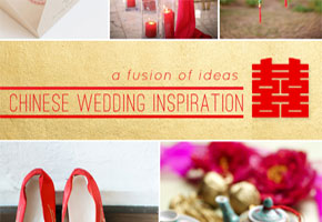 Chinese Wedding Inspiration: A Fusion of Ideas for the Ceremony + Reception!