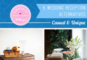 Say 'Good-bye' to Sit-Down Wedding Receptions with 10 Alternatives!