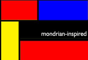 Art Theme Wedding Series: Mondrian-inspired Wedding Style