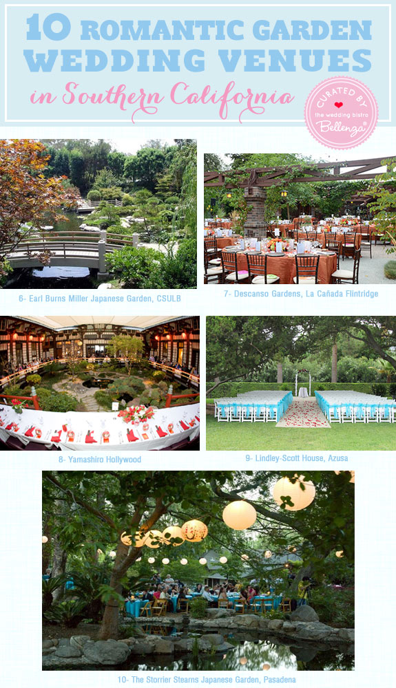 10 Romantic Garden Wedding Venues In Southern California! Curated By The  Wedding Bistro At Bellenza