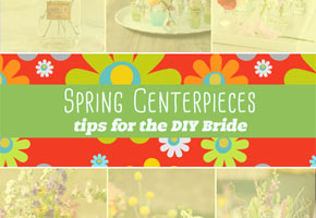 Spring centerpieces diy for weddings