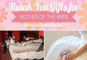 Thank You Gifts for the Mother of the Bride: Practical + Pretty!
