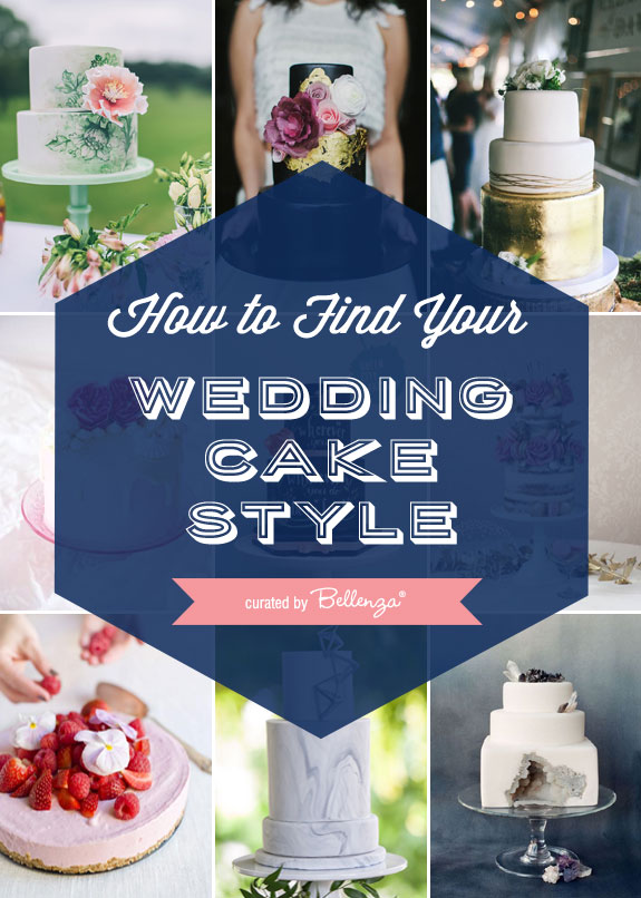 10 Wedding Cake Styles | The Bellenza Wedding Blog