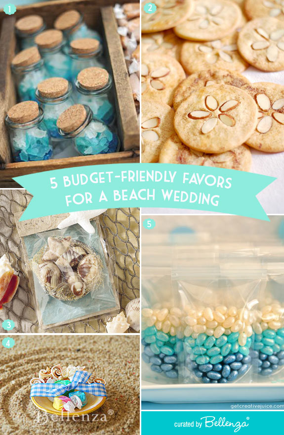 Edible Favors for a Beach Wedding that are Budget Friendly