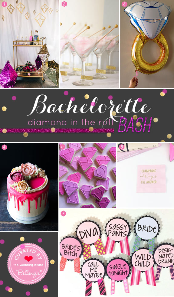 Decorating Tips for a Diamond in the Ruff Bachelorette Party Theme | The Wedding Bistro at Bellenza.