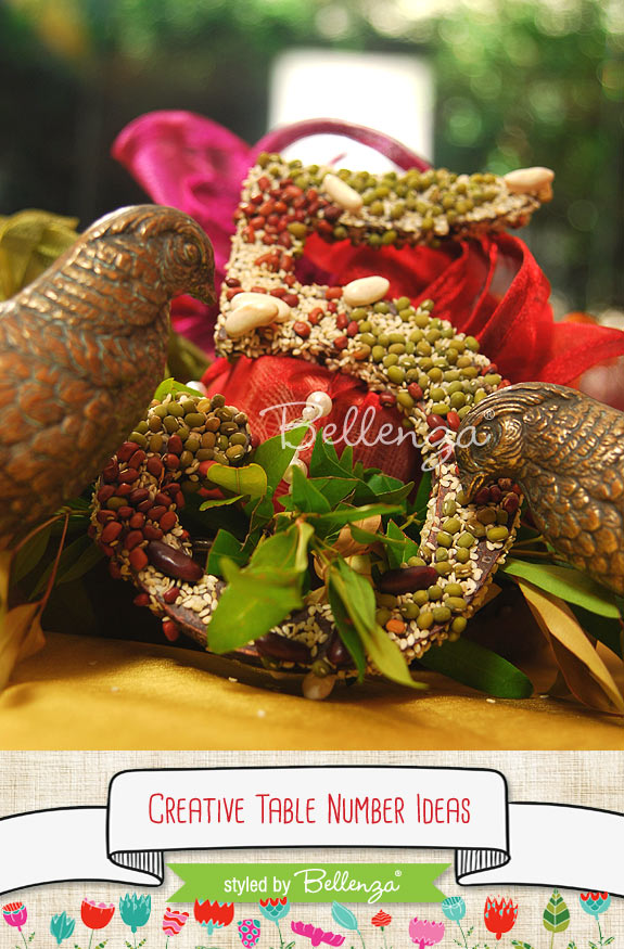 Bird seed table number