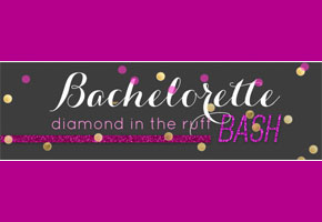 Bachelorette bash in hot pink and gold