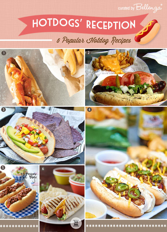 Hotdog recipes for weddings // Curated by Bellenza