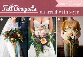 Fall Bridal Bouquet Styles to Swoon Over: From Loose to All-Foliage!