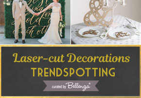 Wedding Trend: Laser Cut Wedding Decorations!