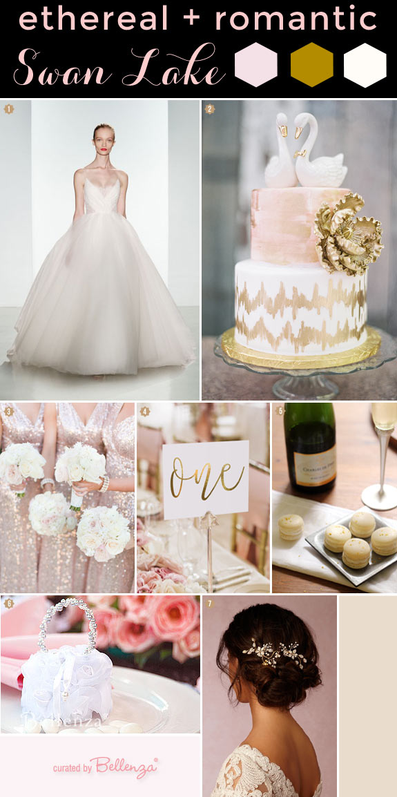 Swan Lake Winter Fairytale Inspiration with Ethereal Romance!