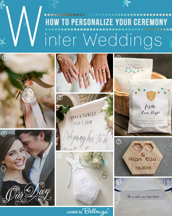 How to Personalize a Winter Wedding Ceremony with Unique Elements