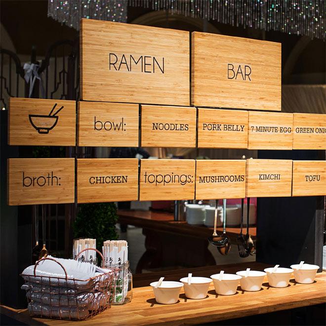 Palm Event Center Ramen