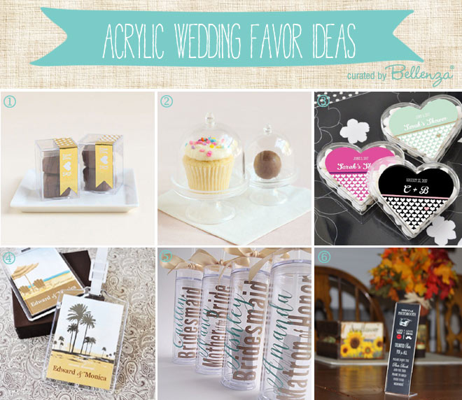 10 Unique Acrylic Favors that are Practical