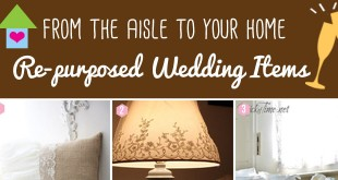 Re-purposed Wedding Decorations for the Home
