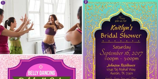 Belly Dancing Bachelorette Party Theme