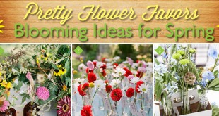 Blooming Spring Flower Favors