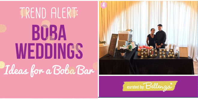 Boba Drink Stations to Serve Guests