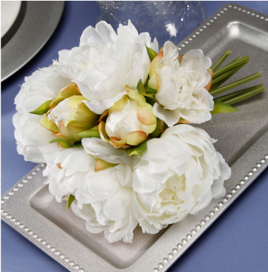 Create your own faux bouquet.