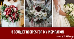 DIY Inspiration with Bouquet Recipes for Fall or Winter Weddings