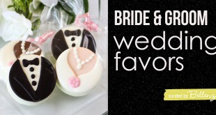 Edible Bride and Groom Favor Ideas