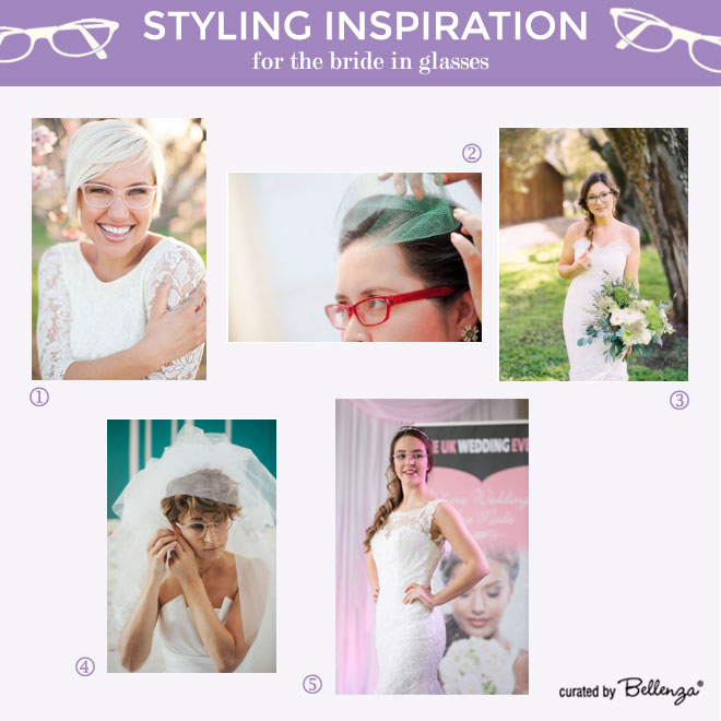 Makeup and Styling Tips for Brides in Eye Glasses