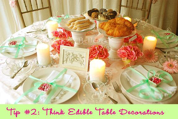 edible centerpiece elements