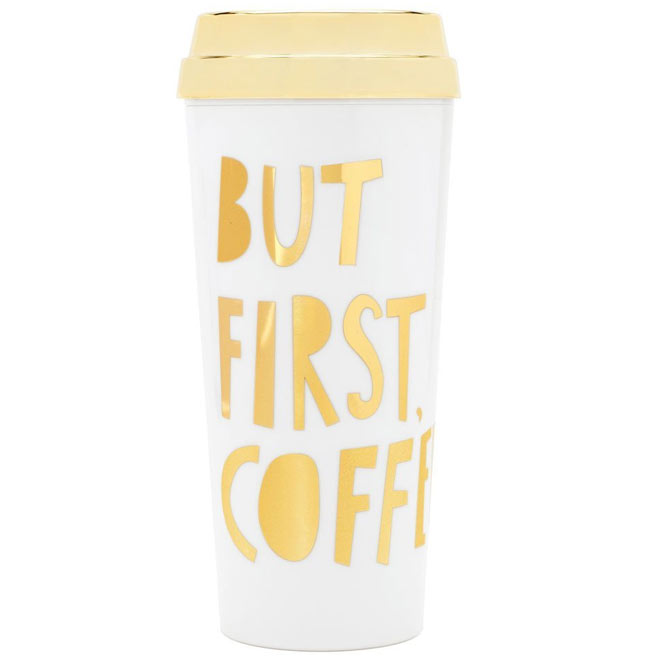 Hot Stuff Thermal Mug But First Coffee from ban.do