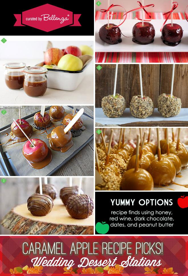 Caramel apple recipes with healthier options using honey to dark chocolate - less sugar