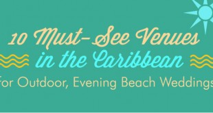 Outdoor Evening Weddings on the Beach| 10 Awe-inspiring Venues in the Caribbean