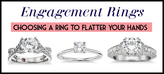 Rings that flatter hands