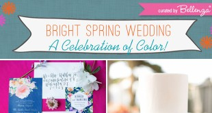 colorfulspringwedding