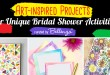 Crafty bridal shower party!