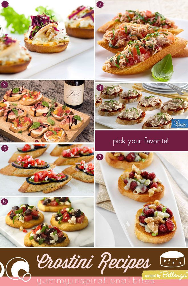 Yummy Crostini Recipes to Make at Home Party