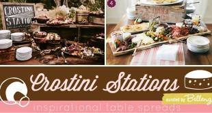 Crostini Wedding Ideas