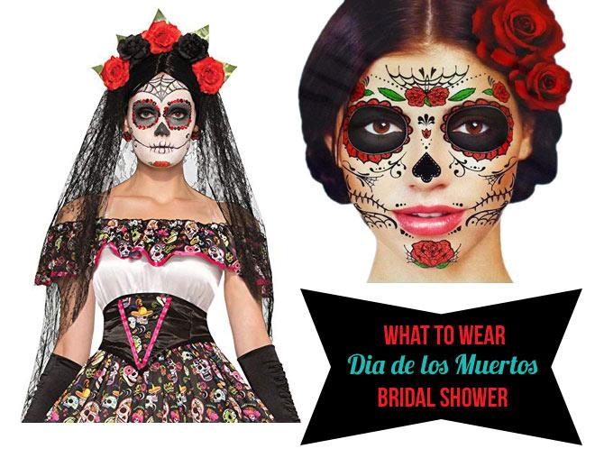 Dia le los muertos costumes